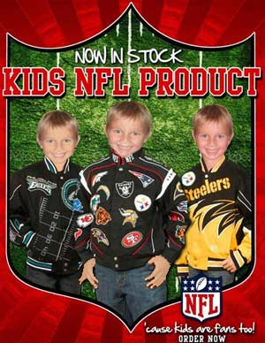 Youth NFL Jackets