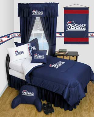 NE Patriots Bedspreads and accessories